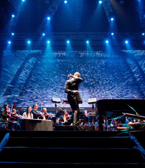TAN DUN:Multimedia Symphonic Epic